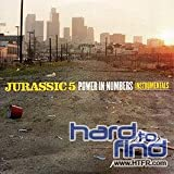 Jurassic 5 Power in Numbers - Instrumental [VINYL]