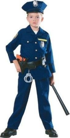 CHILD Police Officer Costume (Please see product details for accessories)