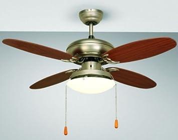 Plafoniere Con Pale : Ventilatore da soffitto con luce pale a castellanza