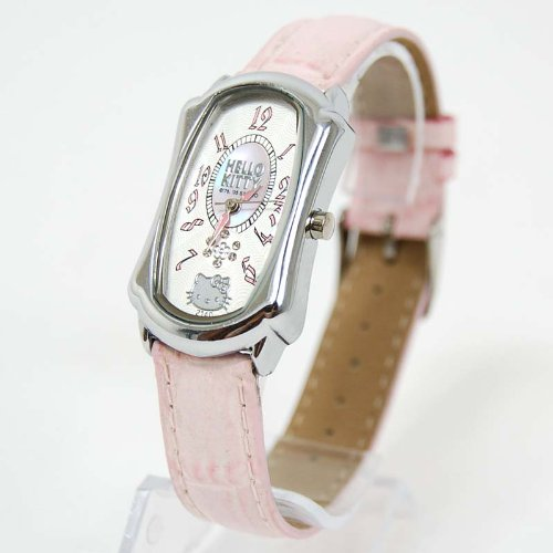 Hello Kitty Square Retro Classic Band Wrist Watch