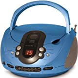 Xtreme CD508 Portable CD Boombox with AM/FM Radio - Blueby Xtreme