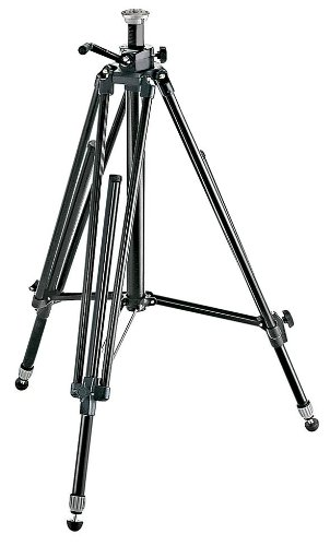 Manfrotto 028B Black Aluminum Studio Pro Triman Tripod with Geared Column promo code