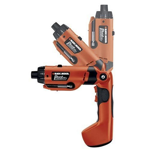 Black & Decker PD600 Pivot Plus 6-Volt Nicad Cordless Screwdriver with Articulating...