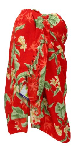 La Leela Hawaiian Print Sarong Wraps