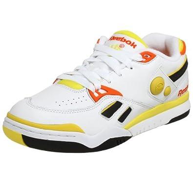 Amazon.com Reebok Menu0026#39;s Pump Court Victory Tennis ShoeWhite/Black/Neon6.5 M Shoes