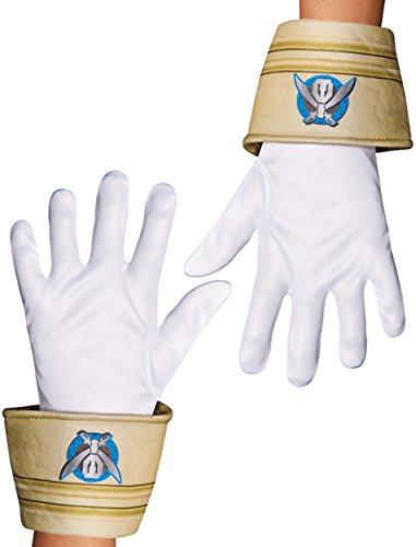 [Disguise Saban Super MegaForce Power Rangers Special Ranger Child Gloves, One Size Child] (Power Rangers Megaforce Halloween)