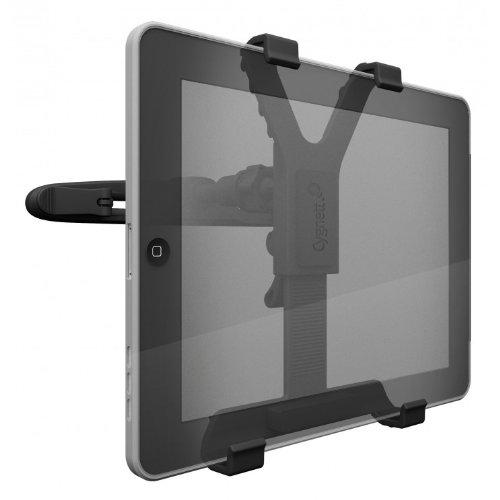 Cargo 360 Degrees Rotation Car Mount Tablet Backseat Headrest Mount Holder For All 5.12 ~ 8.25 Inch Wide Tablets front-169976
