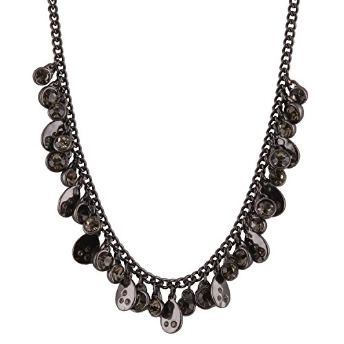 Real Spark Gemstone Diamond Riviere Fashion Style Necklace