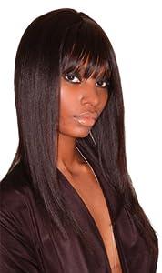 Sleek 100% Human Hair Wig-Superb 1- Jet Black