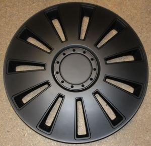 Radkappen/Radzierblenden 13 Zoll SILVERSTONE black von octimex auf Reifen Onlineshop