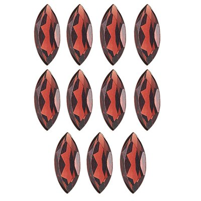 5.00 Cts of 7x3 mm Marquise Matching Loose Garnet (11 pcs set) Gemstones