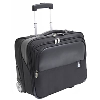 Forward Executive Business Laptop Overnight Case Wheeled with Telescopic Handle Black Ref 3005 from Masters London