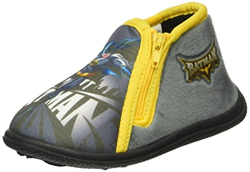 BatmanBAT BRODY - Pantofole con imbottitura leggera  Bambino , Grigio (Grau (Grey (12))), 23