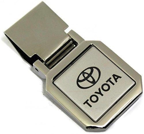 dantegts-toyota-two-tone-spring-loaded-money-clip-camry-corolla-tundra-tacoma