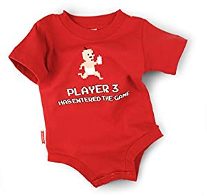 Wry Baby 'Player 3 Has Entered the Game' Snapsuit (0-6 months)