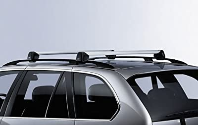 BMW X5 E70 Genuine Factory OEM 82710404320 Profile Roof Rack Cross Bars 2007 - 2012-Thule Cargo Box For Sale