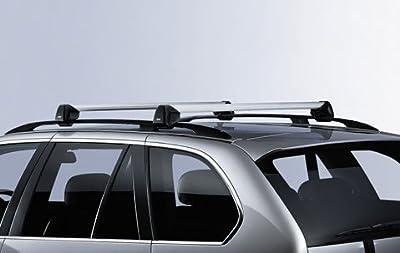 BMW X5 E70 Genuine Factory OEM 82710404320 Profile Roof Rack Cross Bars 2007 - 2012-Thule Cargo Box For Sale