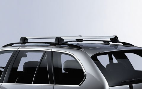 BMW X5 E70 Genuine Factory OEM 82710404320 Profile Roof Rack Cross Bars 2007 - 2012 (Bmw X5 Crossbar compare prices)