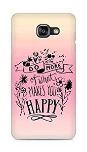 AMEZ do more of what makes you happy Back Cover For Samsung Galaxy A5 (2016 EDITION)