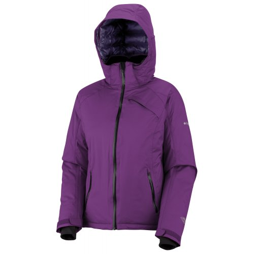 Columbia Women's Best Dam Down Jacket, Plum, Medium