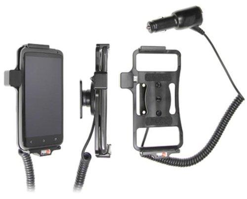 Brodit Autohalterung aktiv für HTC One X AT&T mit Zigaretten-Anschluss-Stecker