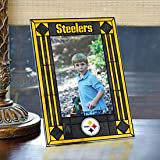 Pittsburgh Steelers Art Glass Frame at Amazon.com