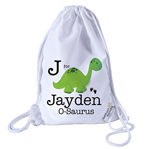 personalised-kids-dinosaur-drawstring-swimming-school-pe-bag-for-boys