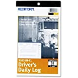 REDS5031NCL - Rediform Carbonless 2-part Drivers Daily Log Book