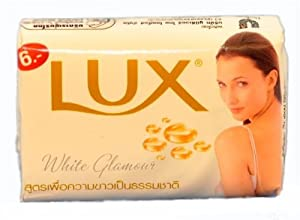 Lux White Glamour Six Pack of 65g Soap from Unilever Thailand