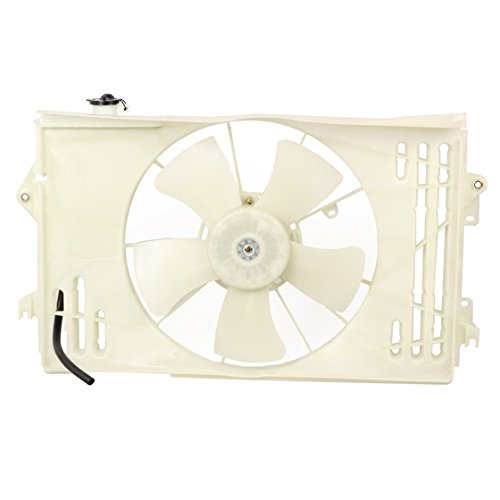 Partsam Radiator Cooling Fan & Motor Assembly For Toyota Corolla Oem#163-0D040