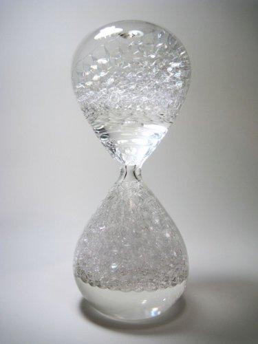 awaglass 泡時計 レギュラー 透明