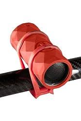 Outdoor Tech OT1301 Buckshot - Super-Portable Rugged Water-Resistant Wireless Bluetooth Speaker (Red)