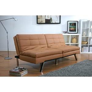 Gold sparrow memphis camel double cushion for Sofa bed amazon