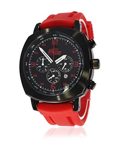 Pit Lane Reloj con movimiento Miyota Pl-1005-3 Rojo 42 mm