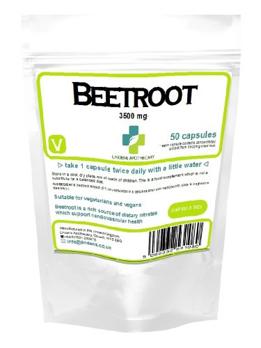 Super Strength Beetroot Extract 3500Mg 50 Capsules