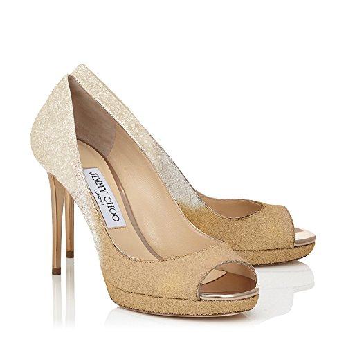 Jimmy Choo Luna Ombre Glitter Shoe 6.5