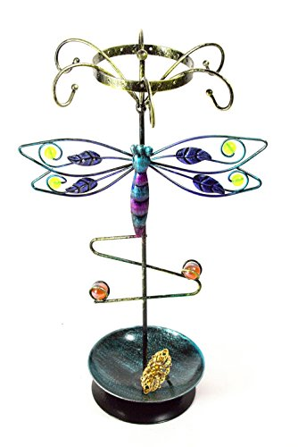 Bejeweled Display®Dragonfly Earring~Bracelet ~Necklace Tree~Ring Jewelry Display