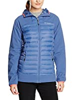 Columbia Chaqueta Dutch Hollow Hybrid (Azul Medio)