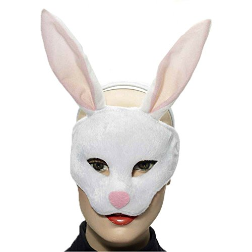 Bunny Rabbit Plush Mask