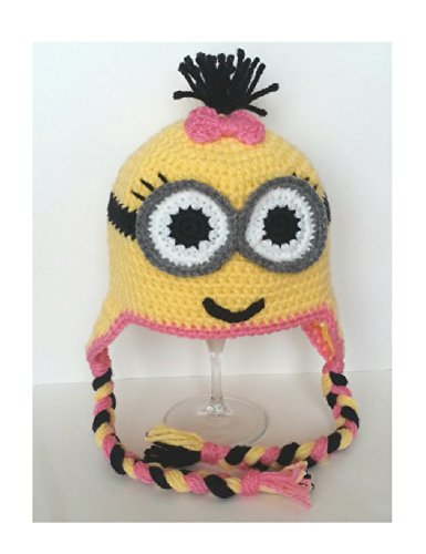 Buy Home Handmade Despicable Me Toddler Baby Minion Crochet Hat