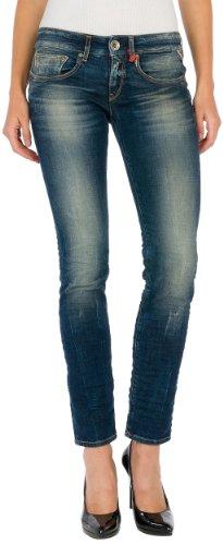 Replay Damen Slim Jeans Radixes, Gr. W30/L32 (Herstellergröße: 30), Blau (Blue Denim 9) thumbnail