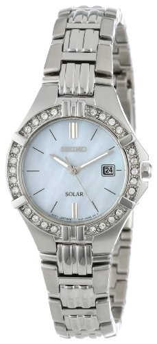 Seiko Women's SUT087 Dress Solar Sporty Crystals Japanese Quartz Watch