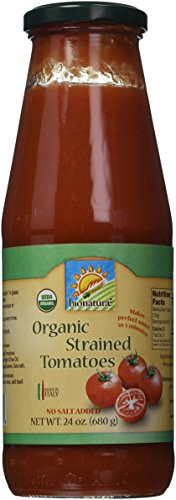 Bionaturae Tomatoes, Og, Strained, 24-Ounce (Pack of 6) (Bionaturae Tomato Paste compare prices)