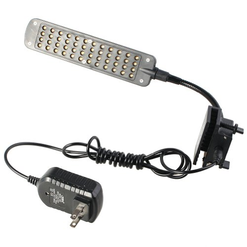 2013Newestseller 48 Led Clip Aqaurium Fish Tank Light 3 Working Modes front-131098