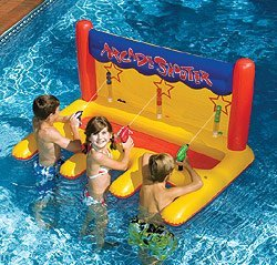 Inflatable Swimming Pool Arcade Shooter by SplashNet jetzt kaufen