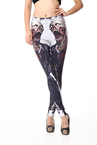 Sunnydate -  Leggings  - Donna zombie Medium
