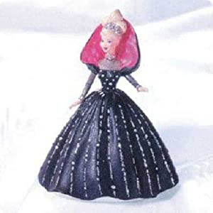 Holiday Barbie 6th in Series 1998 Hallmark Ornament QXI4023