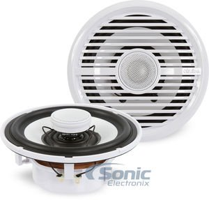 Clarion CMG1622R 6.5-Inch 100-Watt Marine Speakers (Pair) (Discontinued by Manufacturer)