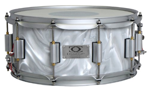 Drum Craft Series 7 Dc837272 Birch 12 X 6 Inches Snare Drum, Liquid Chrome