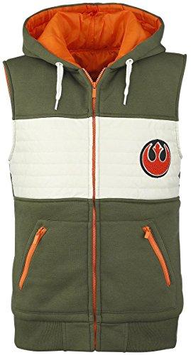 Star Wars Rebel Fighter Felpa jogging verde/bianco/arancione XXL